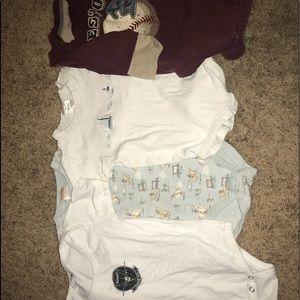 Boys clothing bundle size 6-12 months.